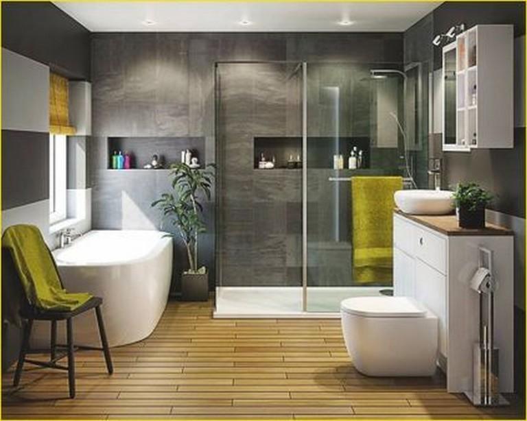22 Comfy Wooden Bathroom Designs Ideas