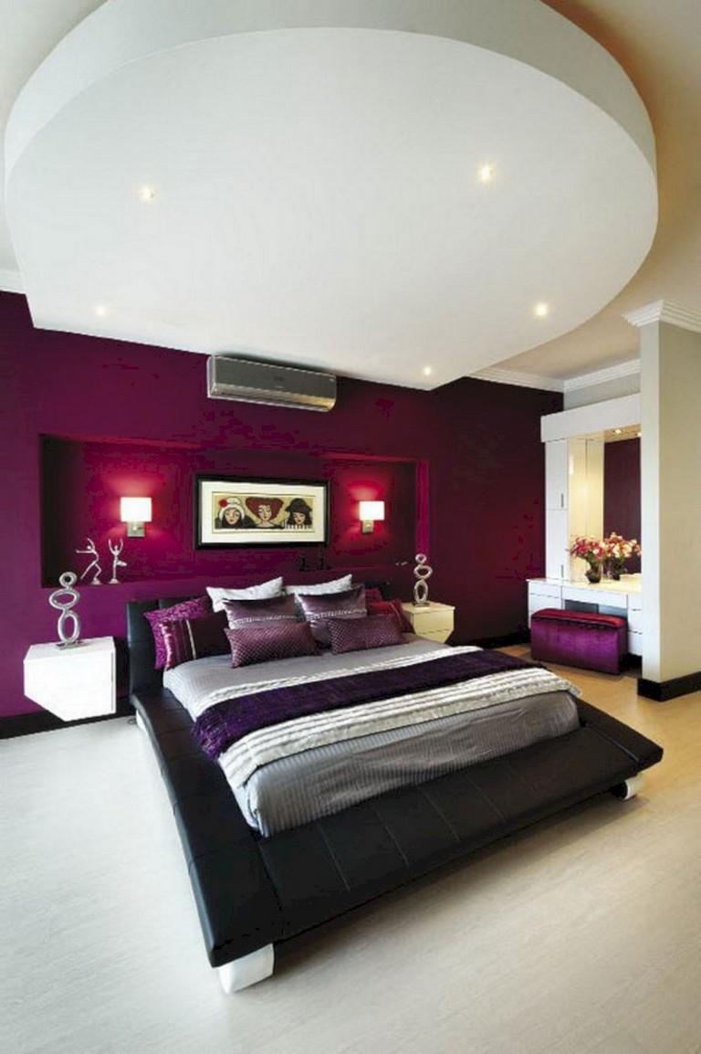 35+ Stunning Black Bedroom Color Schemes Ideas