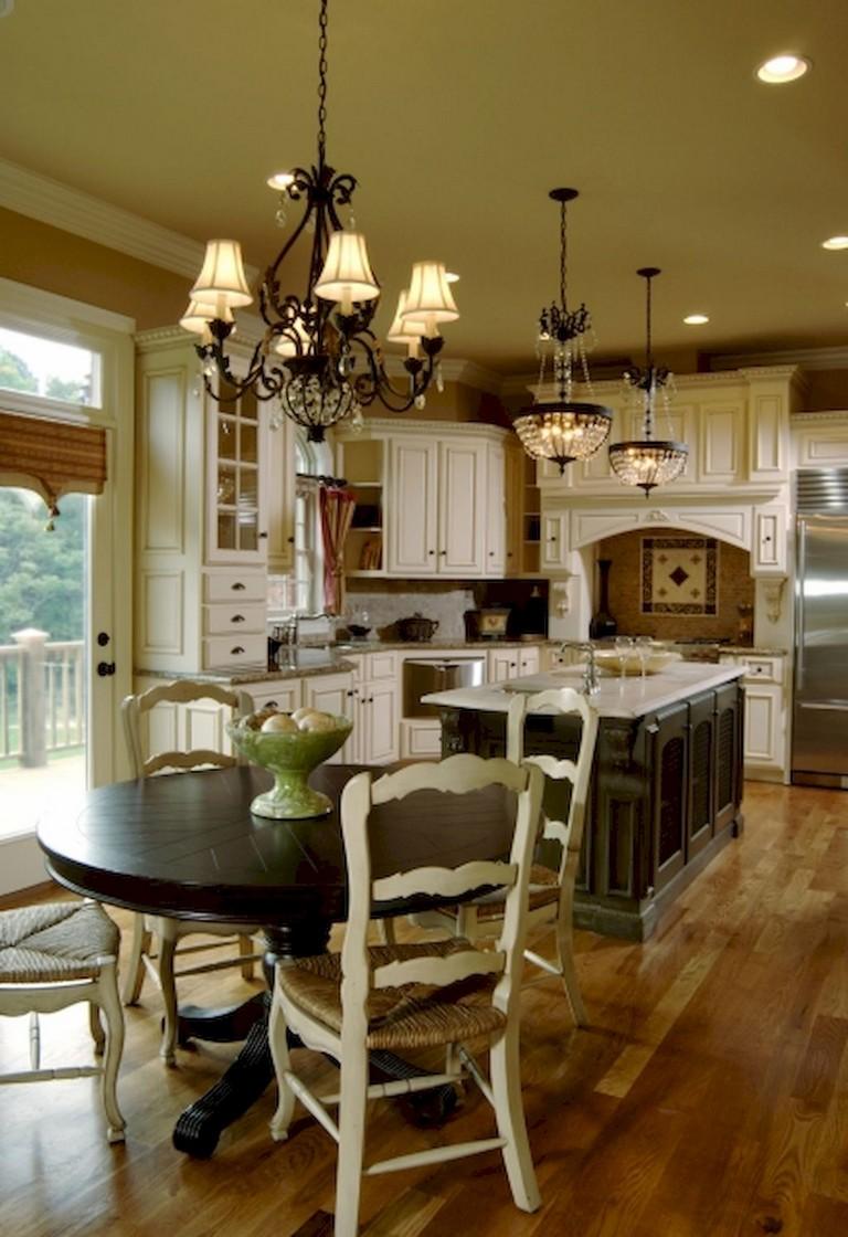 40+ Gorgeous French Country Kitchen Design & Decor Ideas ...