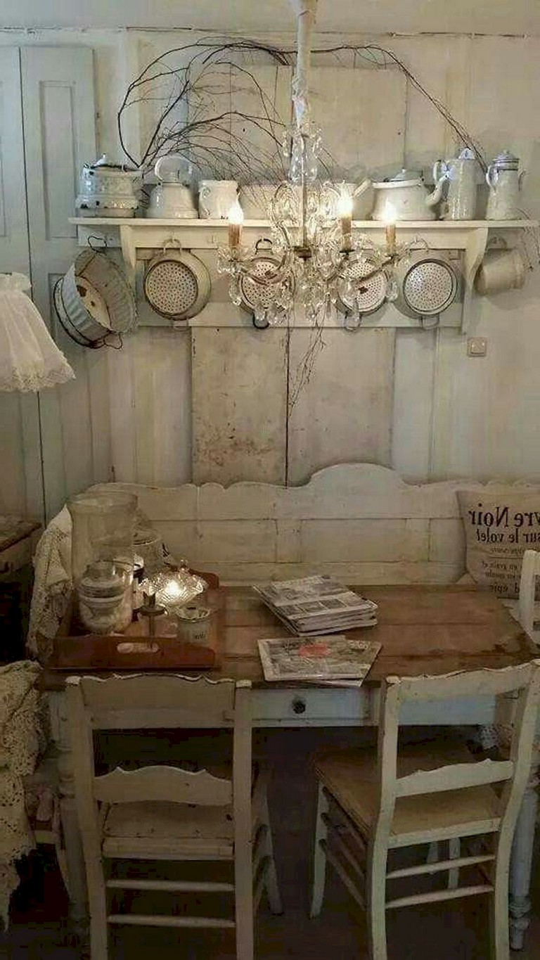 42+ Comfy Farmhouse Shabby Chic Living Room Decor Ideas