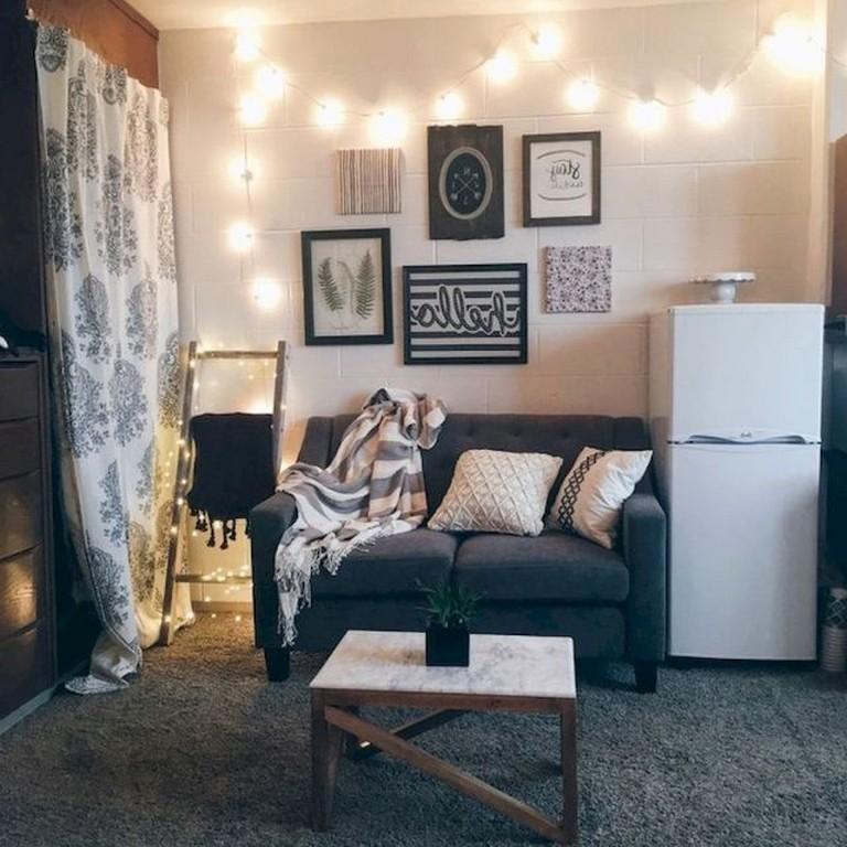 55+ Rustic And Cute Dorm Room Decorating Ideas