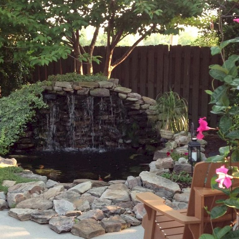 7 Amazing Bedroom Decorating Trends To Watch For 2018: 62+ Beautiful Backyard Ponds And Water Feature Landscaping
