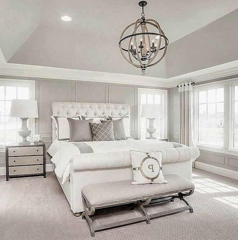 50+ Comfy Gorgeous Master Bedroom Design Ideas - Page 24 of 52 on Comfy Bedroom Ideas  id=49376