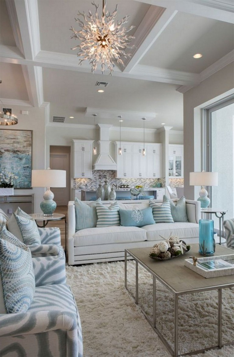 77 comfy coastal living room decorating ideas  page 69 of 79