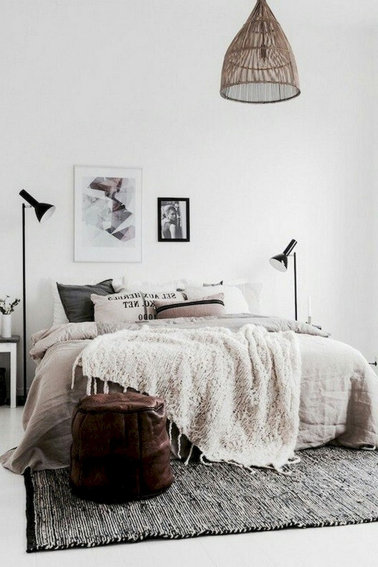 49+ Top Apartment Bedroom Decor Ideas Boho Style